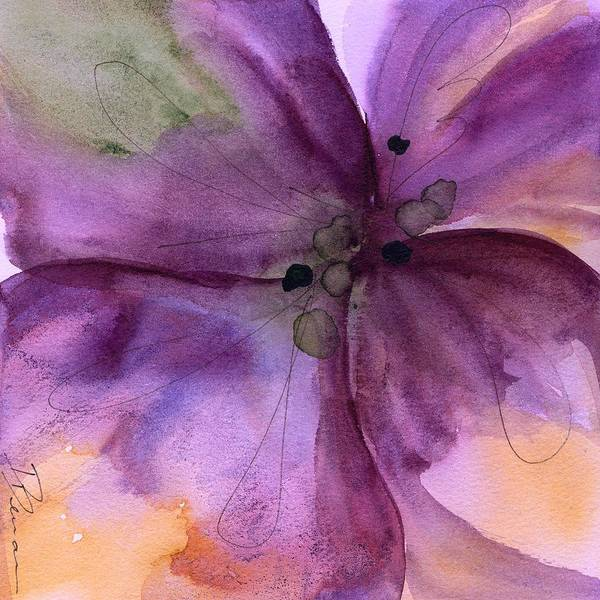 Painting - Pansy 3 by Dawn Derman
