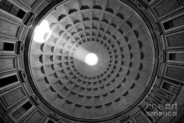 Photograph - Pantheon Ceiling by Inge Johnsson