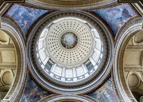 Wall Art - Photograph - Pantheon Dome - Paris by Stephen Stookey