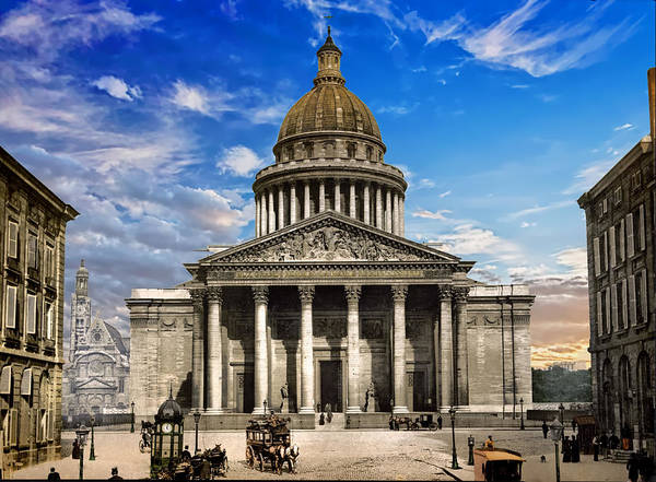 Photograph - Pantheon In Paris  by Carlos Diaz