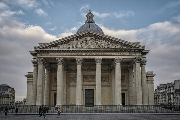 Photograph - Pantheon Paris by Joan Carroll