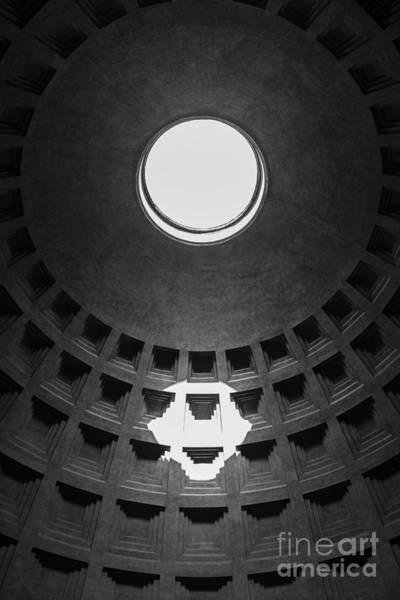 Pantheon Wall Art - Photograph - Pantheon Rome Italy by Edward Fielding