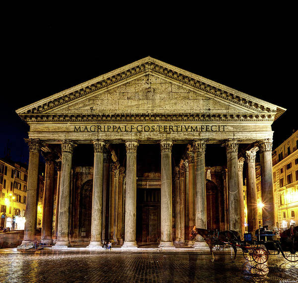 Photograph - Pantheon Rome by Weston Westmoreland
