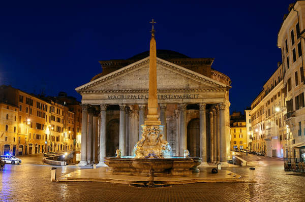 Photograph - Pantheon  by Songquan Deng