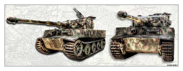 Wall Art - Photograph - Panzer Tiger I by Weston Westmoreland