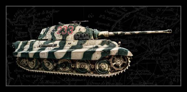 Wall Art - Photograph - Panzer Tiger II Side Bk Bg by Weston Westmoreland