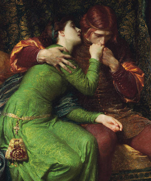 Entwine Wall Art - Painting - Paolo And Francesca by Sir Frank Dicksee