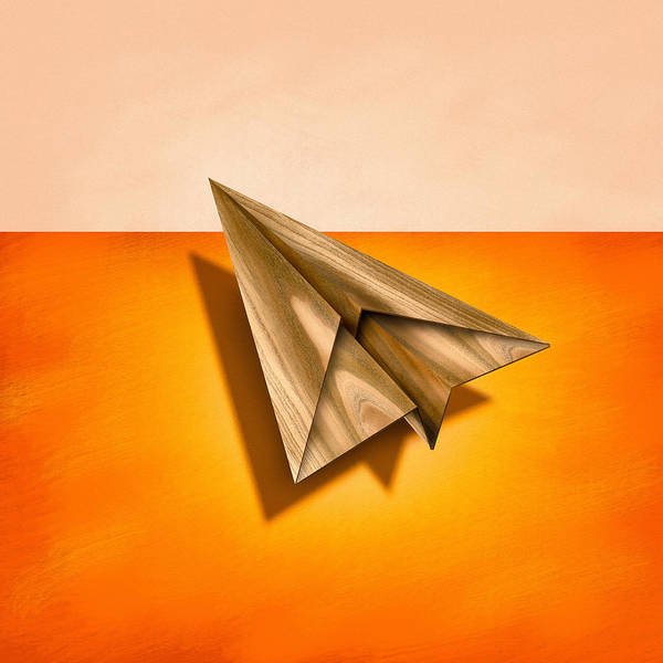 Wall Art - Photograph - Paper Airplanes Of Wood 18 by YoPedro