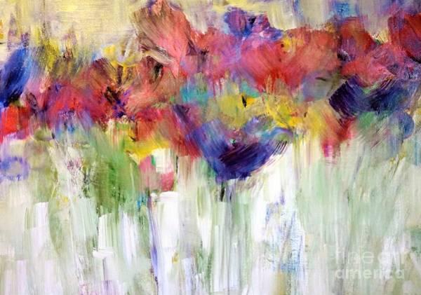 Wild Poppies Digital Art - Paper Flower Painting by Lisa Kaiser