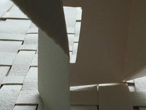 Paper Structure-1 Art Print
