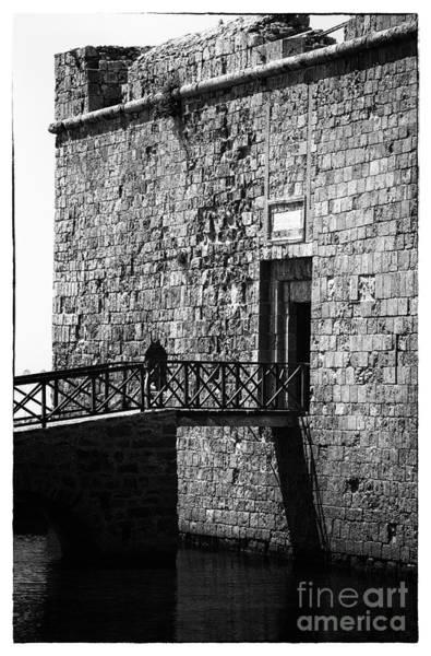 Wall Art - Photograph - Paphos Castle by John Rizzuto
