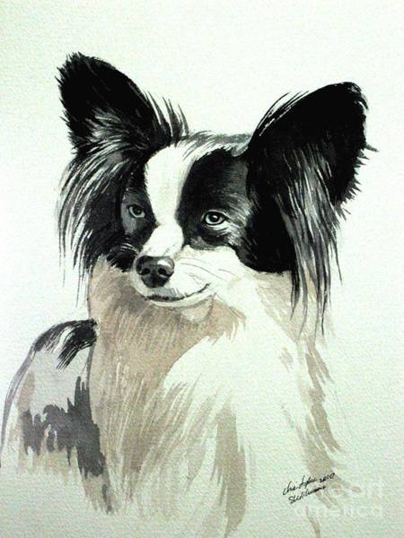 Painting - Papillion by Christopher Shellhammer