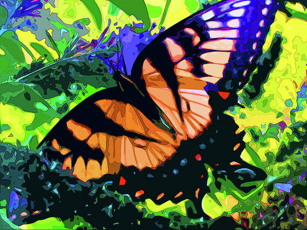 Digital Art - Papillon by Gina Harrison