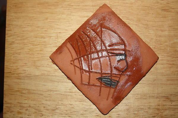 Ceramic Art - Papyrus - Tile by Gloria Ssali