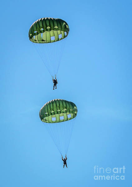 Photograph - Parachute Pair by Tom Claud