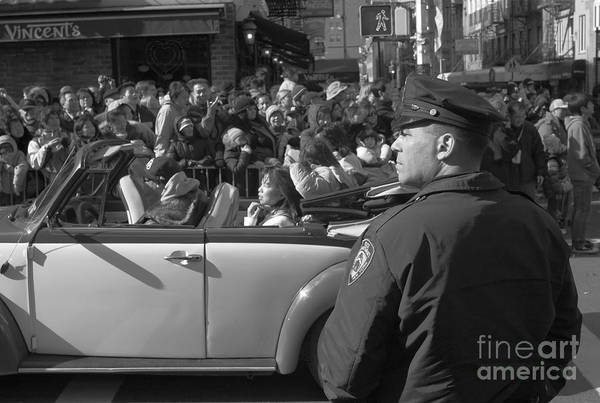 Chinese New Year Photograph - Parade Security by Clarence Holmes