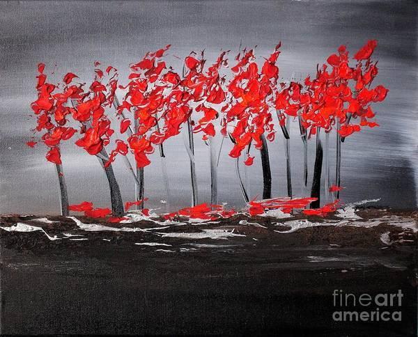 Painting - Paradise 3 by Preethi Mathialagan