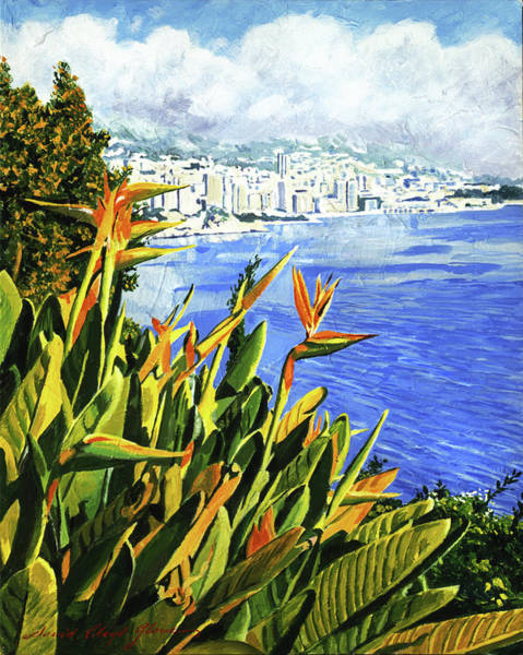 Painting - Paradise Bay by David Lloyd Glover