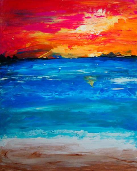 Painting - Paradise by Dane Newton
