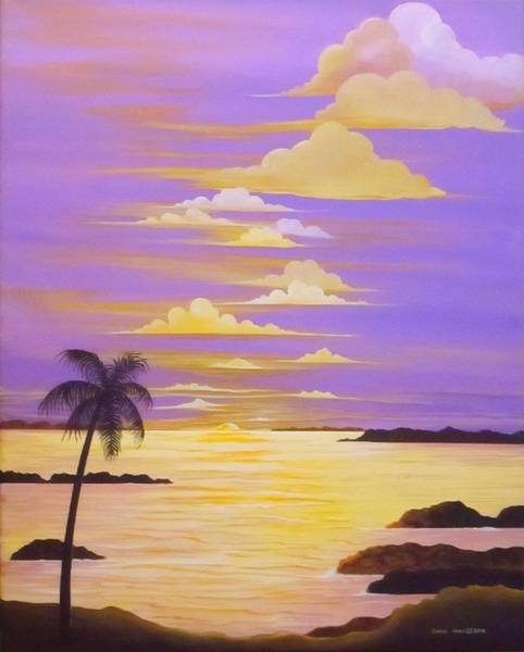 Wall Art - Painting - Paradise Dreams by Carol Sabo