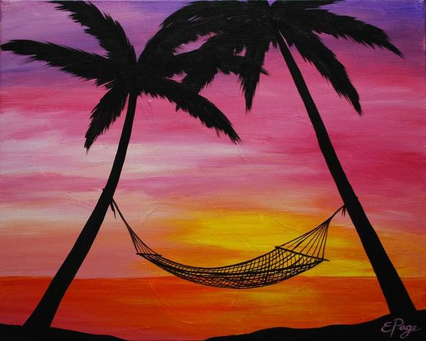 Painting - Paradise by Emily Page