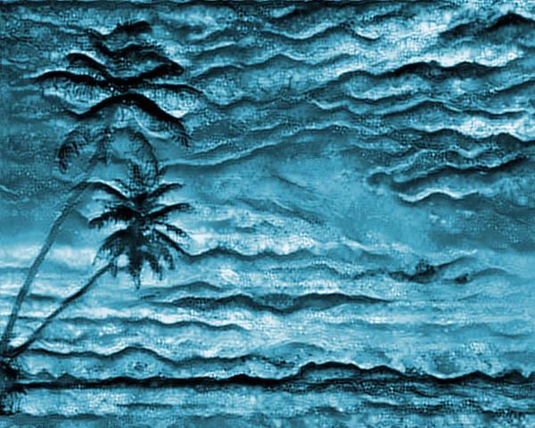 Carribean Islands Digital Art - Paradise Found Pf-2 by Artistic Mystic