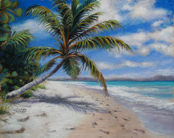 Pastel - Paradise Found by Susan Jenkins