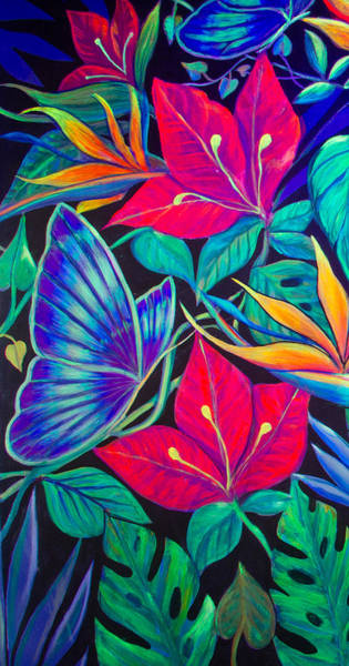 Wall Art - Painting - Paradise In Tinajas #1 by Sue Beck-Ryan
