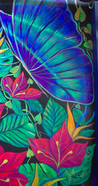 Wall Art - Painting - Paradise In Tinajas #3 by Sue Beck-Ryan
