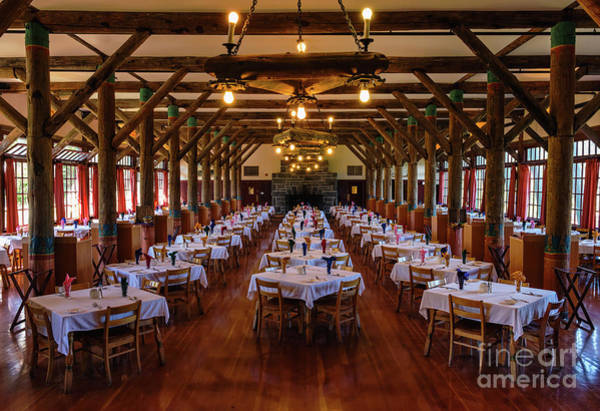 Photograph - Paradise Inn Dining Room by Sharon Seaward