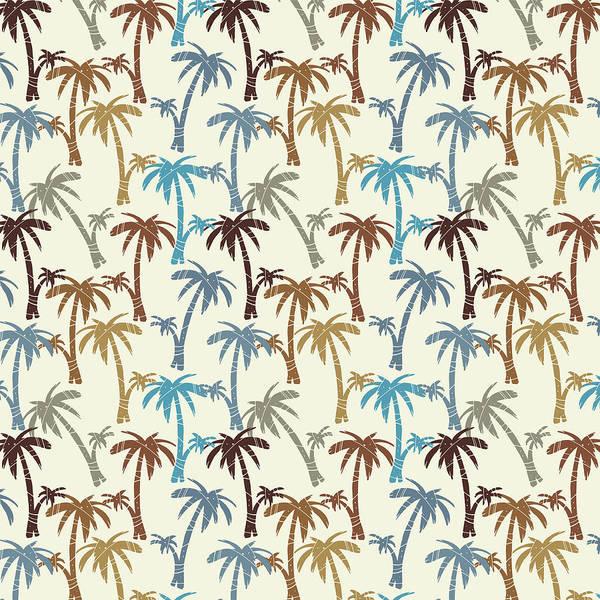 Palm Trees Digital Art - Paradise Palms by Kevin Putman