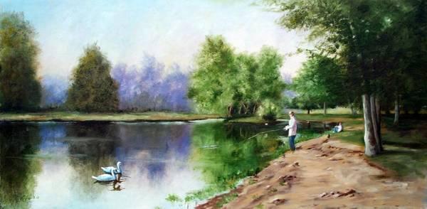 Paradise Park Art Print