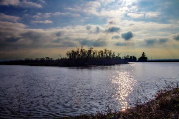 River Scene Mixed Media - Paradise Point 1 by Terry Davis