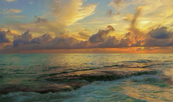 Digital Art - Paradise Sunset by Garvin Hunter
