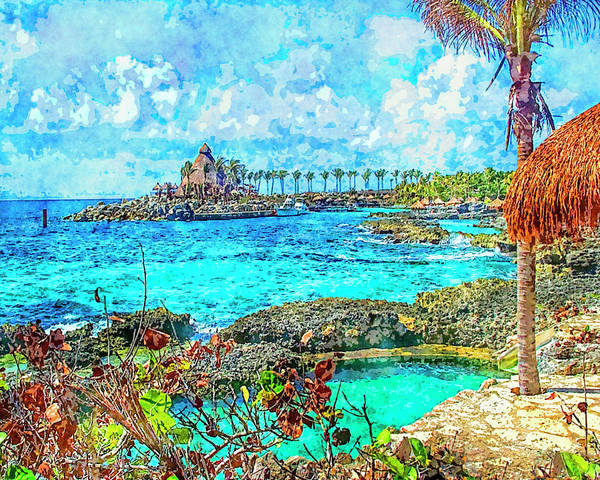 Digital Art - Paradise by Susan Leggett