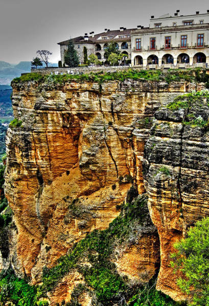 Photograph - Parador Hotel Ronda - Andalusia by Juergen Weiss