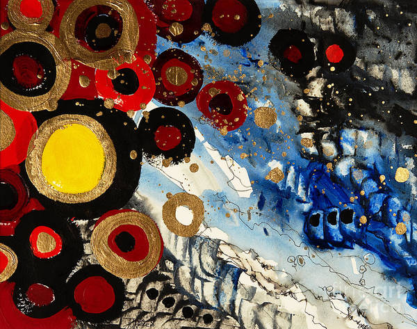 Tara Painting - Paradox In Harmony by Tara Thelen - Printscapes