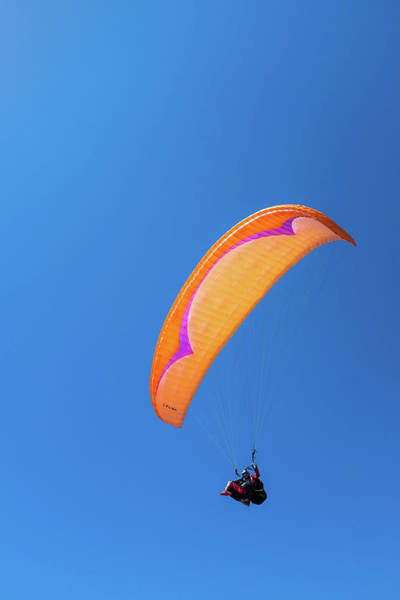 Port Orange Photograph - Paragliding by Joseph Smith