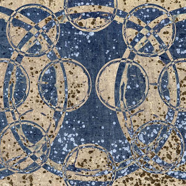 Batik Wall Art - Photograph - Parallel Universes 02 by Carol Leigh