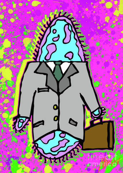 Truck Digital Art - Paramecium On Business by Morgan Richardson
