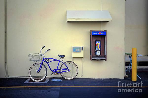 Photograph - Paramount Backlot Bicycle by Craig J Satterlee