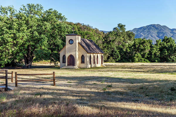 Photograph - Paramount Ranch Church by Gene Parks