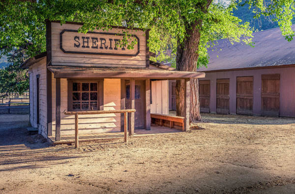 Photograph - Paramount Ranch Jail by Gene Parks
