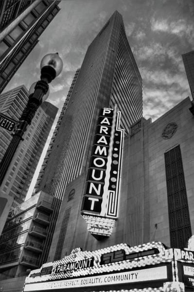 Photograph - Paramount Theatre - Boston Theatre District by Joann Vitali