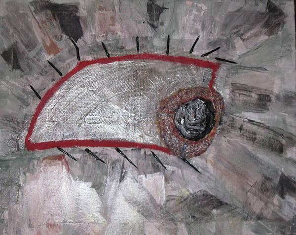 Eyeballs Painting - Paranoia by Alexandra Mallory