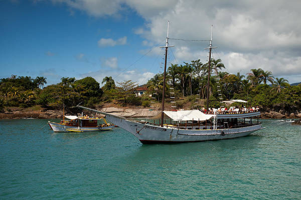 Photograph - Paraty Bay And Schooners by Aivar Mikko