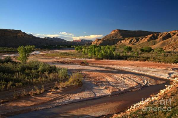 Photograph - Paria River by Adam Jewell