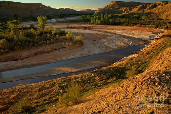 Photograph - Paria River Sunset by Adam Jewell