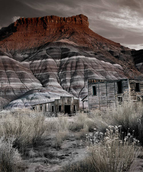 Paria Photograph - Paria Townsite by Leland D Howard