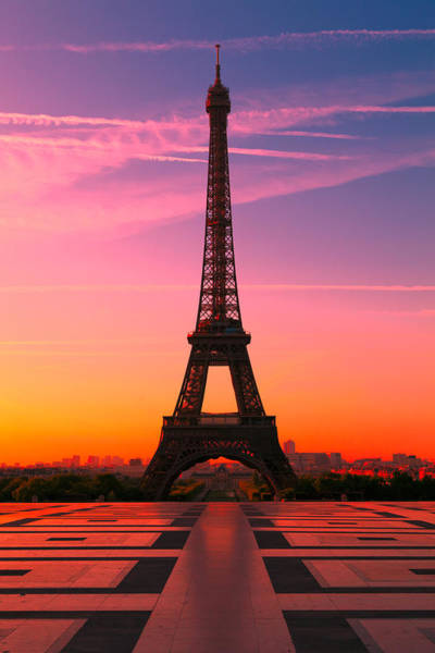Eiffel Tower Wall Art - Photograph - Paris 15 by Tom Uhlenberg